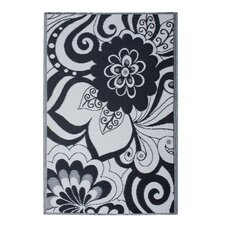 World Maui Black/Cream Indoor/Outdoor Rug