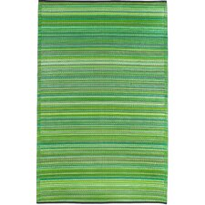 Cancun World Green Indoor/Outdoor Rug