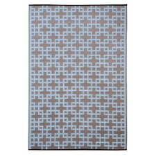 Rheinsberg Powder Blue World Indoor/Outdoor Rug