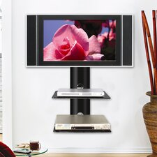 <strong>Ready Set Mount</strong> Monte Carlo Dual Wall-Mount Shelf System in Hi-Gloss Black