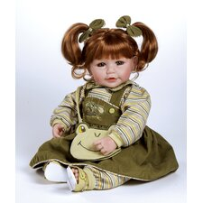 Baby Doll Froggy Fun Red Hair / Green Eyes