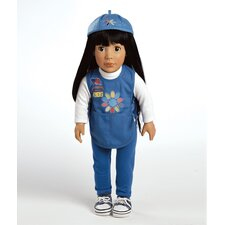 Play Doll Ava - Girl Scout Daisy Doll and Costume