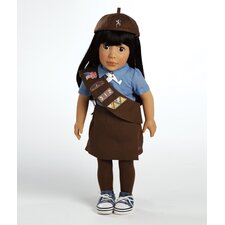 Play Doll Ava - Girl Scout Brownie Doll and Costume