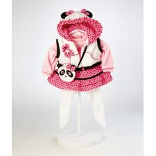 "<strong>Adora Dolls</strong> 20"" Baby Doll Panda Fun Costume"