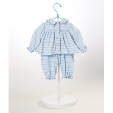 "20"" Baby Doll Blue Pajamas Costume"