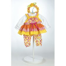 "<strong>Adora Dolls</strong> 20"" Baby Doll Jelly Beanz Costume"