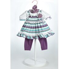 "20"" Baby Doll Grape Soda Costume"