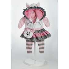 "<strong>Adora Dolls</strong> 20"" Baby Doll The Cat's Meow Costume"