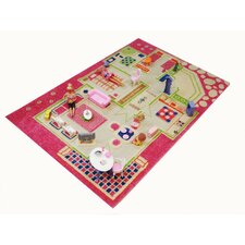 <strong>Luca and Company</strong> IVI Carpets-Playhouse 3D Play Kids Rug