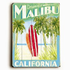 Surfboards Vintage Advertisement Plaque
