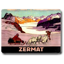 Zermat Vintage Advertisement Plaque