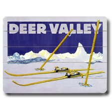 Deer Valley Vintage Advertisement Plaque