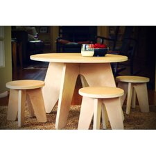 Aero Kids 3 Piece Table and Stool Set