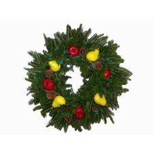 "Fresh Fraser Fir Wreath/ centerpeice - ""The Colonial"" -  24"" -26"" (diam.)"