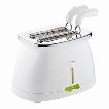 """Elektronischer Toaster """"G-Plus"""" in Weiß"""