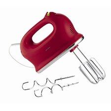 """Elektrisches Handrührgerät """"G-Plus"""" in Rot"""