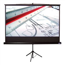 "Matte White Tripod T Portable Screen - 100"" diagonal Video Format"