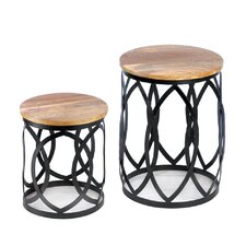 Signature Series 2 Piece Nesting Tables