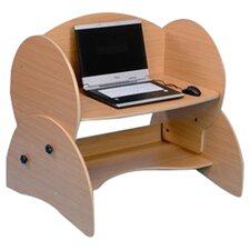 Low Level Adjustable Computer Desk