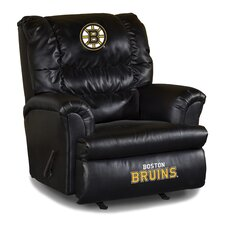 NHL Leather Big Daddy Recliner