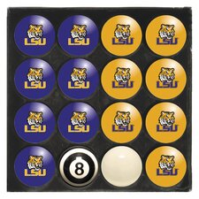 NCAA Home Vs. Away Billiard Ball Set