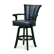 Black Swivel Pub Chair