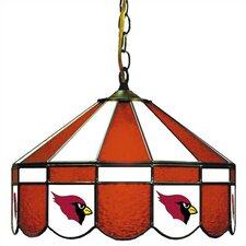 NFL Team Logo Stained Glass Pub Light