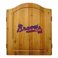MLB Team Logo Complete Dart Cabinet Set