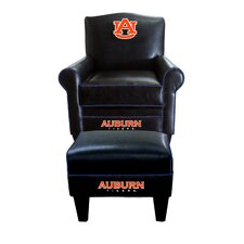 NCAA Game Time Chair and Ottoman