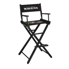 NFL Bar Height Director Chair