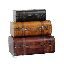 "3 Piece 7.4"" Suitcase Set"