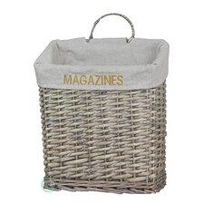 Vintage Magazine Basket