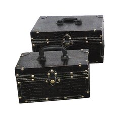<strong>Quickway Imports</strong> Small Treasure Chests (Set of 2)