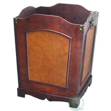 Antique Wooden Wastebin