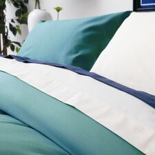 Plain Dyed 150 Thread Count Plain Hem Pillowcase in Teal