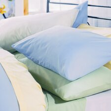 Plain Dyed 150 Thread Count Plain Hem Pillowcase in Willow