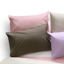 Plain Dyed 200 Thread Count Oxford Pillowcase in Walnut Whip