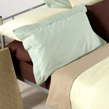 Plain Dyed 150 Thread Count Continental Pillowcase in Willow