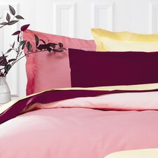 Plain Dyed 150 Thread Count Continental Pillowcase in Blush