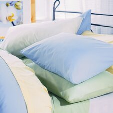 Plain Dyed 200 Thread Count Oxford Pillowcase in Sky Blue