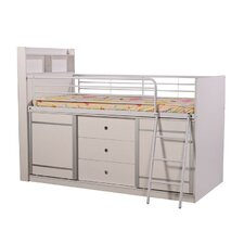 Lincoln Midsleeper Bed Frame with Storage