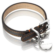 <strong>Hennessy & Sons</strong> Sailor Handmade Lorica Microfiber Dog Collar