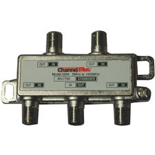 <strong>Channel Plus</strong> 4 Way Splitter/Combiner