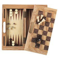 3-in-1 Wood Game Box