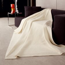 <strong>Bocasa Blankets</strong> New Wave Woven Cotton Blend Throw Blanket