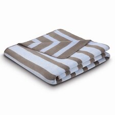 <strong>Bocasa Blankets</strong> World Affairs French Stripes Cotton Blend Blanket