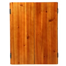 Metropolitan Oak Steel-Tip Dartboard Cabinet