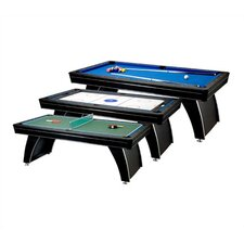 Phoenix 3-in-1 7' Pool Table Tennis Table