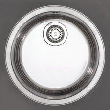 Opal Single Bowl Undermount Sink in Stainless Steel