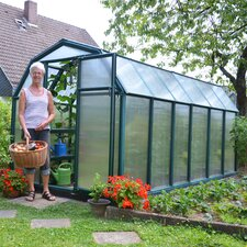 "EcoGrow 2 Twin Wall 6' 4"" H x 6' 5"" W x 12' 6"" D Polycarbonate 4 mm Greenhouse"